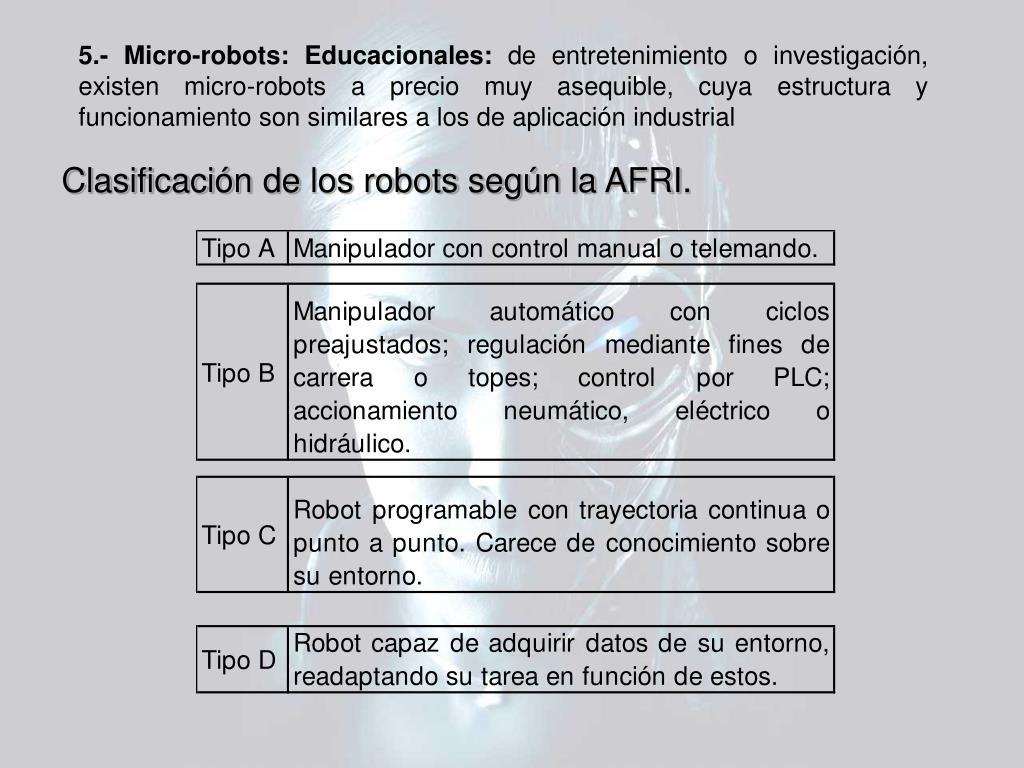 5.- Micro-robots: Educacionales: