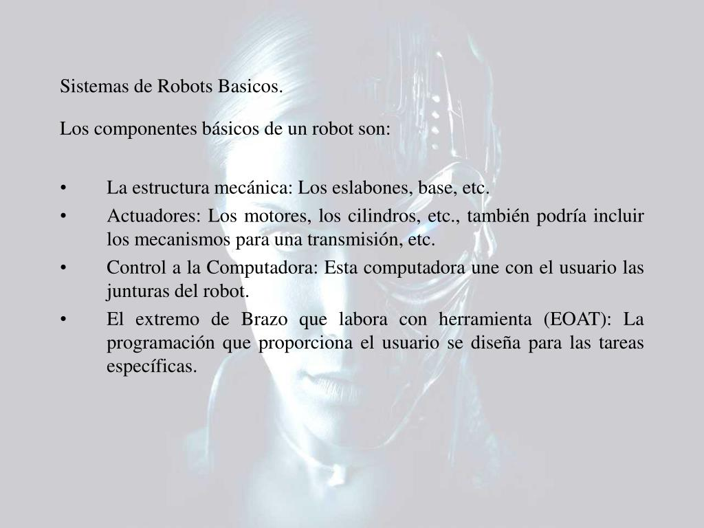 Sistemas de Robots Basicos.