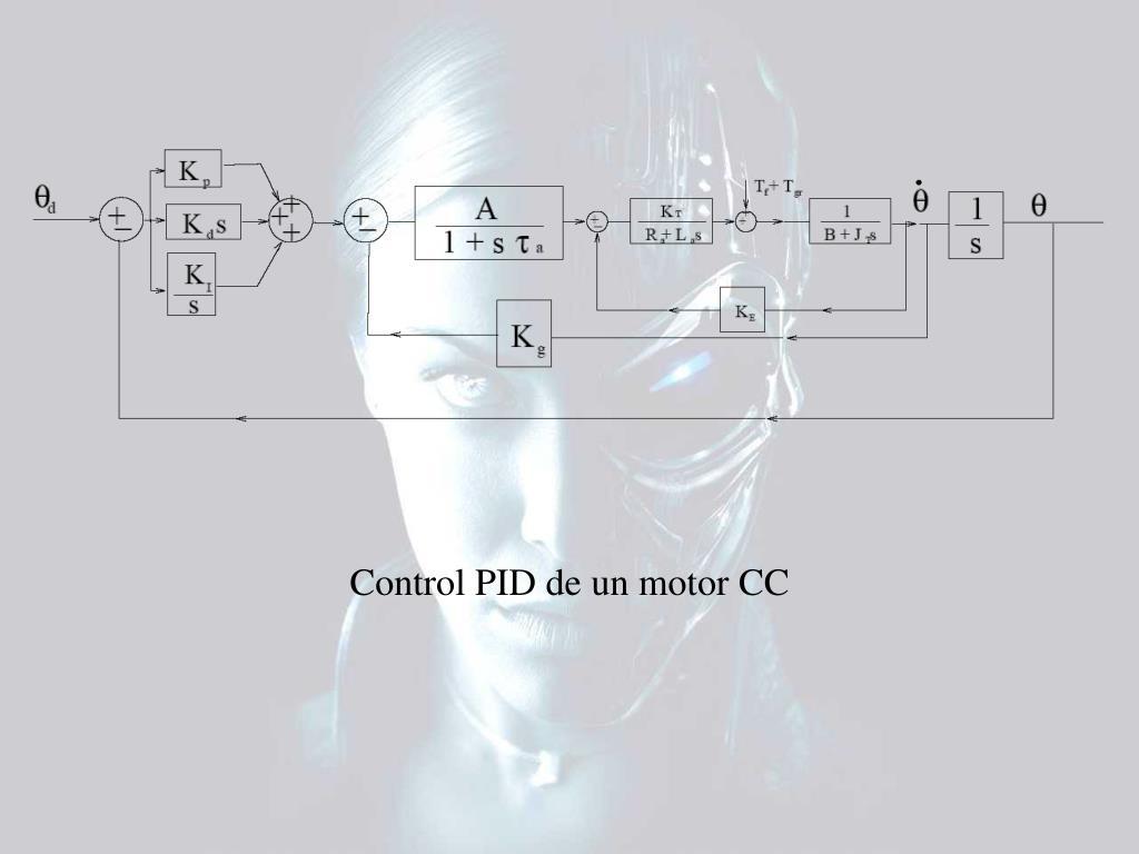 Control PID de un motor CC
