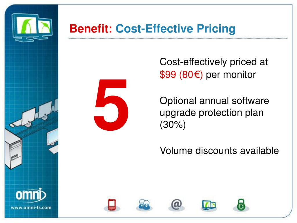 Cost-effectively priced at