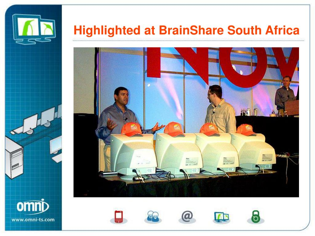 Desktop Multiplier Highlighted at BrainShare South Africa