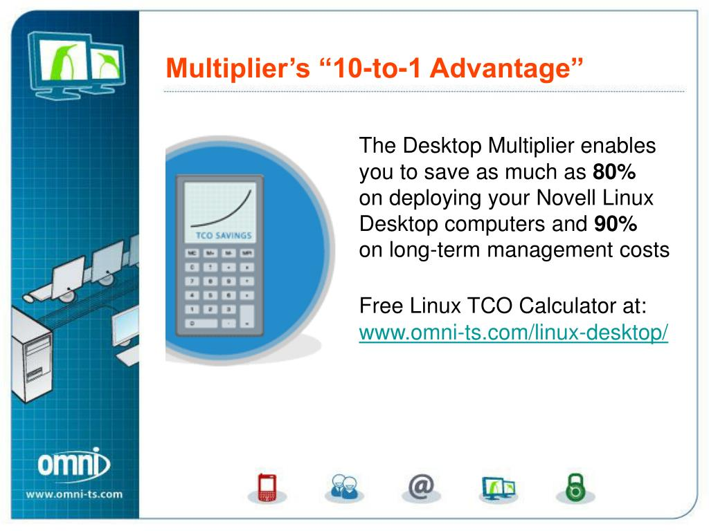 The Desktop Multiplier enables you to save as much as
