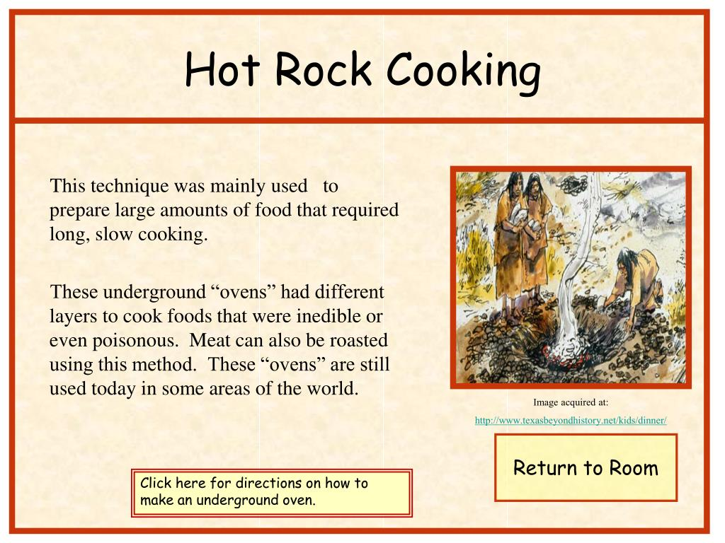 Hot Rock Cooking