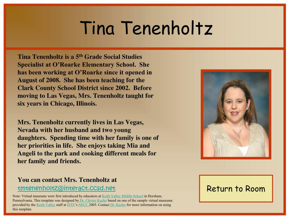 Tina Tenenholtz