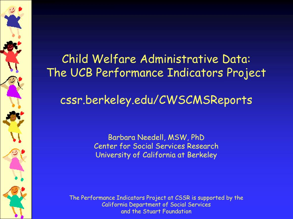 Child Welfare Administrative Data: