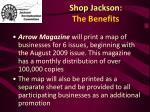 shop jackson the benefits