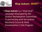 shop jackson what