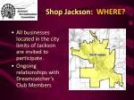 shop jackson where