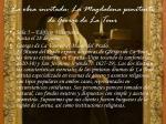 la obra invitada la magdalena penitente de george de la tour