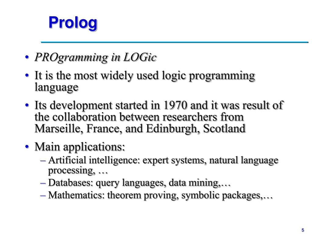 Prolog