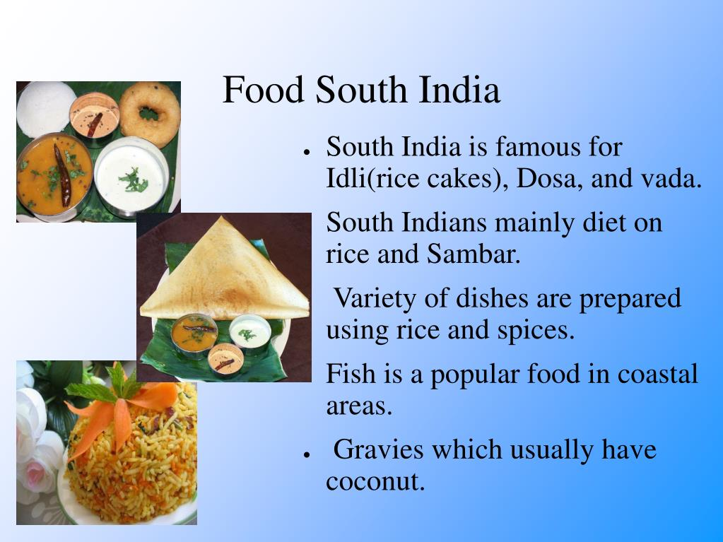 Food South India