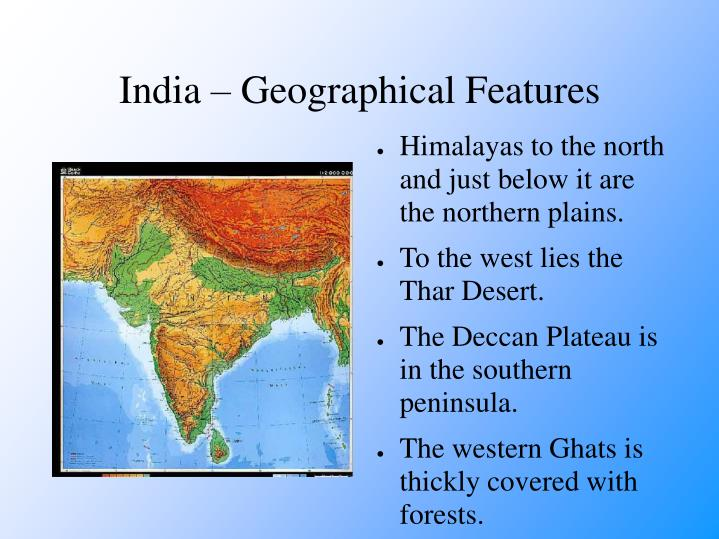 India geographical features