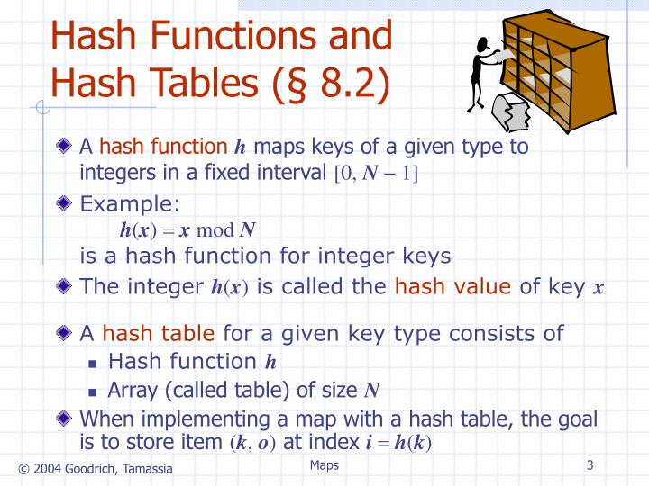 Hash functions and hash tables 8 2 l.jpg
