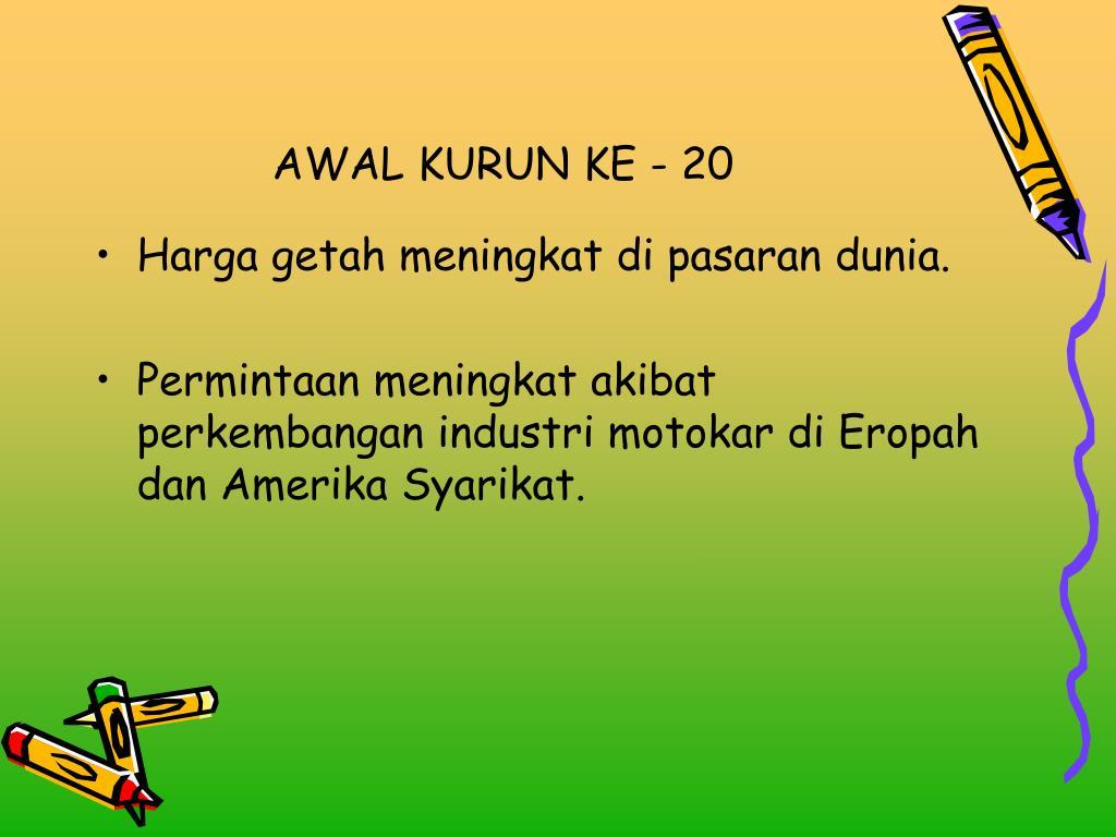 AWAL KURUN KE - 20