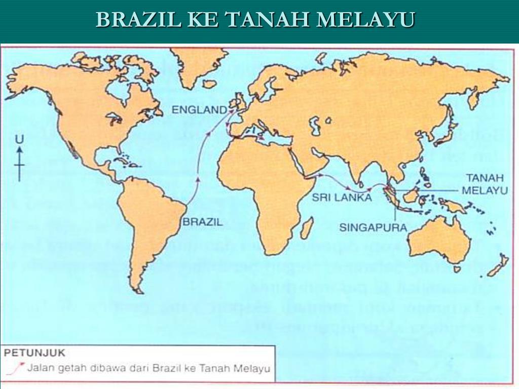 BRAZIL KE TANAH MELAYU