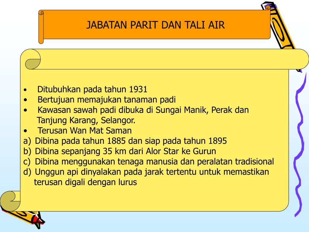 JABATAN PARIT DAN TALI AIR