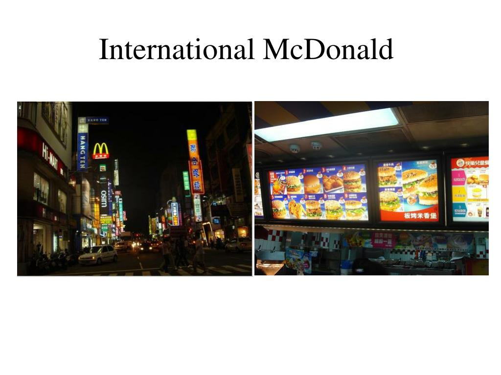 International McDonald