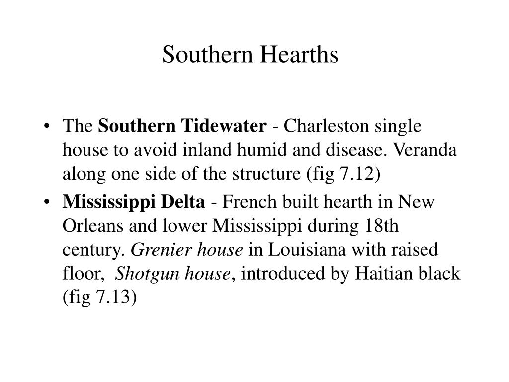 Southern Hearths