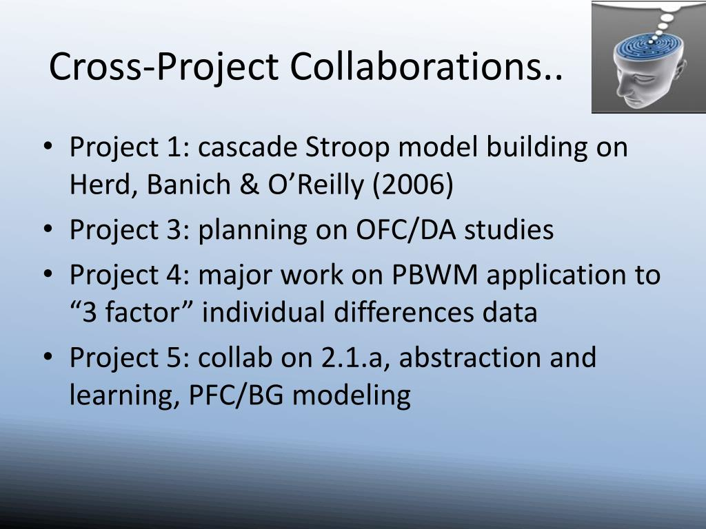 Cross-Project Collaborations..