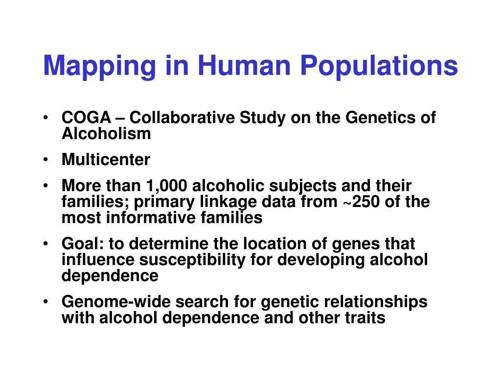 relationship between alcohol and genetics