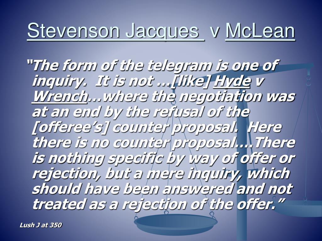 Stevenson Jacques