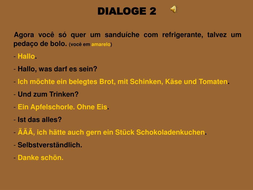 DIALOGE 2