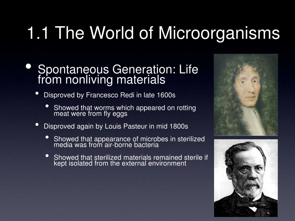 1.1 The World of Microorganisms