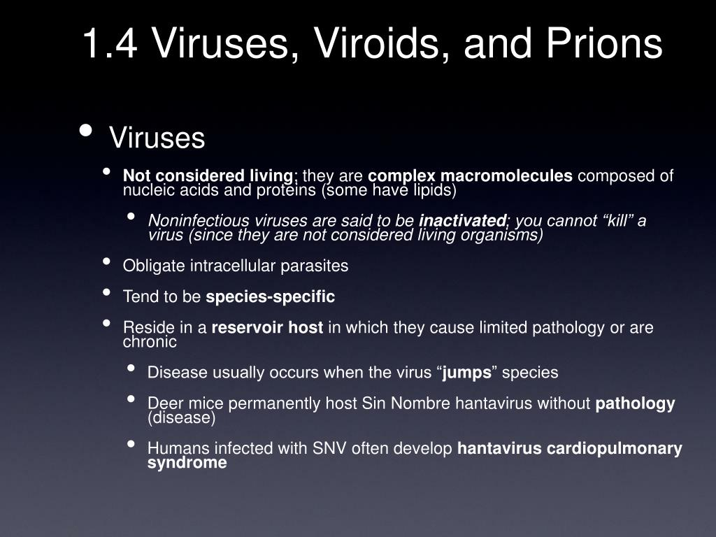 1.4 Viruses, Viroids, and Prions
