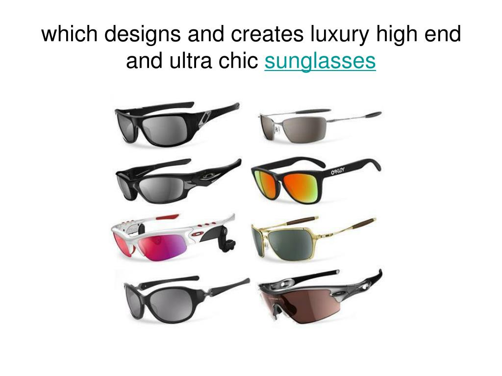 which designs and creates luxury high end and ultra chic