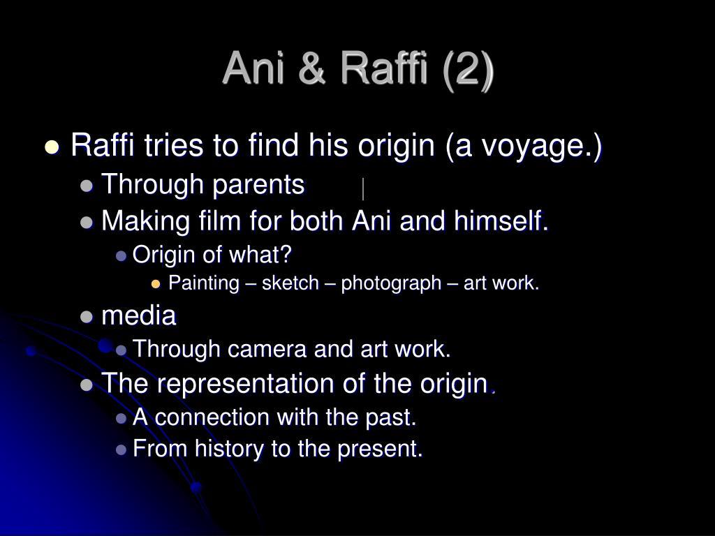 Ani & Raffi (2)