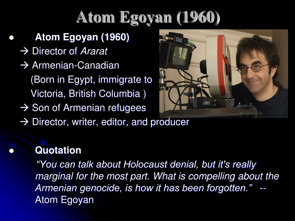 Atom Egoyan (1960)