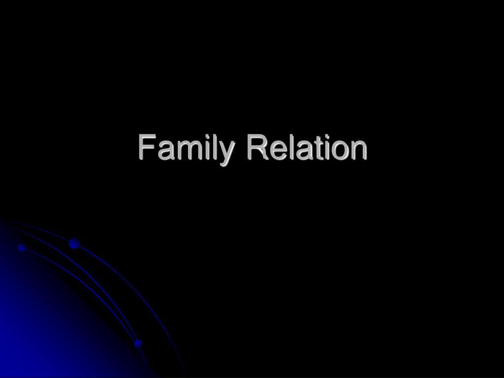 Family Relation