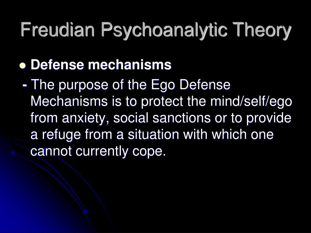 Freudian Psychoanalytic Theory