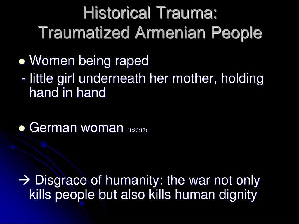 Historical Trauma: