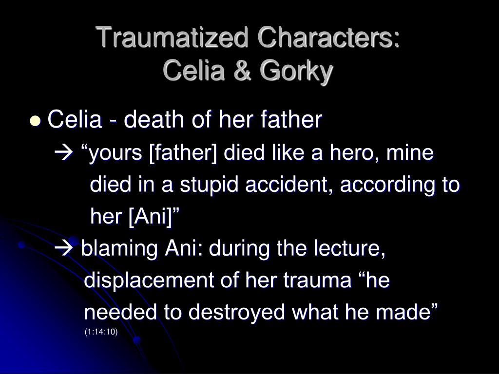 Traumatized Characters: