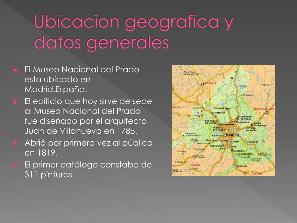 Ubicacion geografica y datos generales