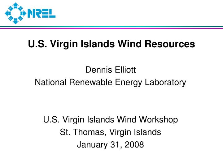 u s virgin islands wind resources