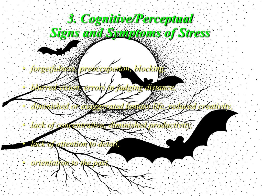 3. Cognitive/Perceptual