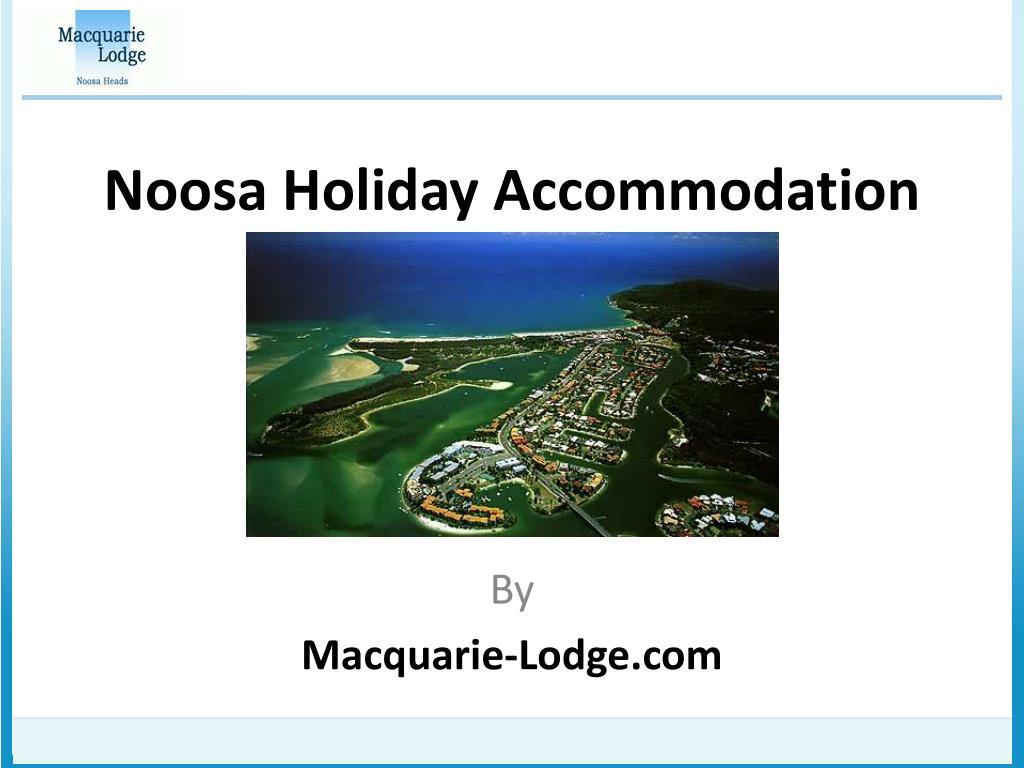 noosa holiday accommodation