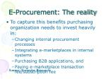 e procurement the reality38