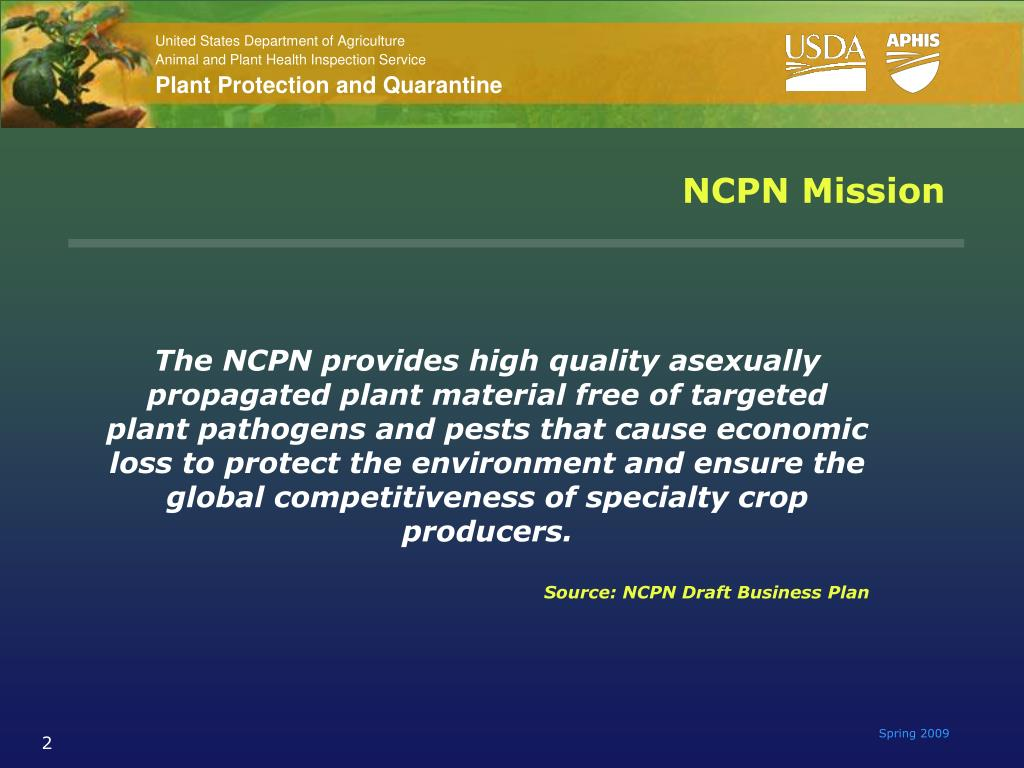 NCPN Mission