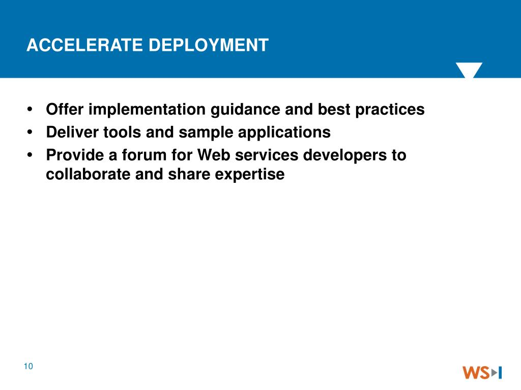 Offer implementation guidance and best practices