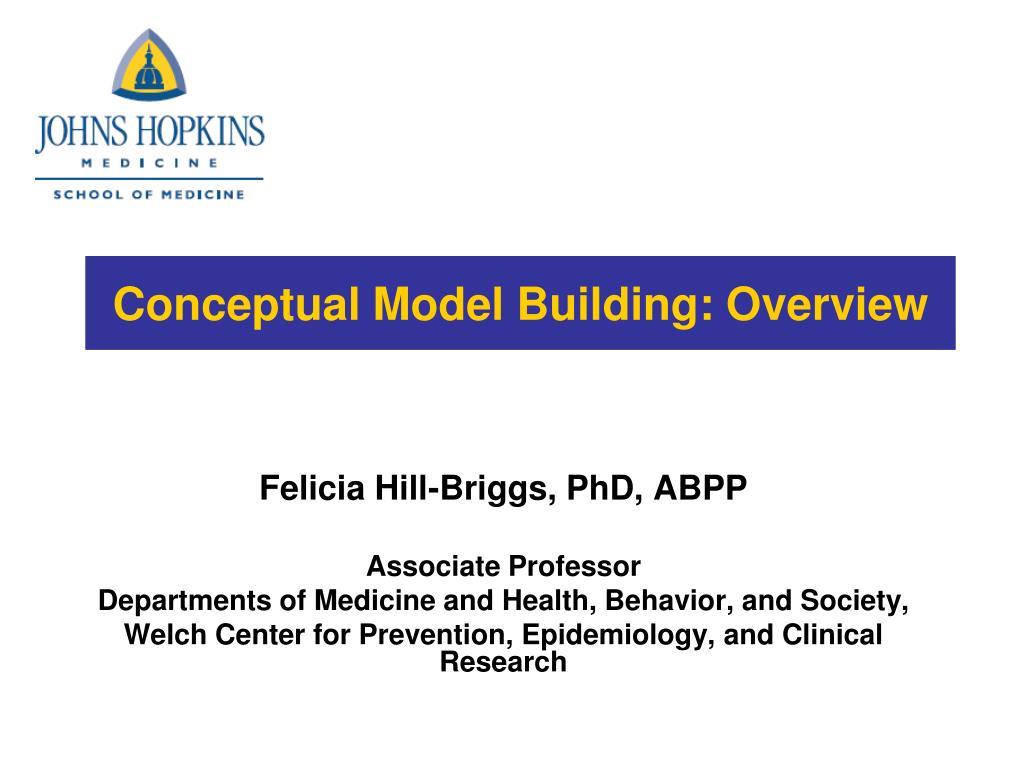 conceptual model building overview