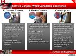 service canada what canadians experience
