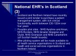 national ehr s in scotland 3