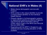 national ehr s in wales 4