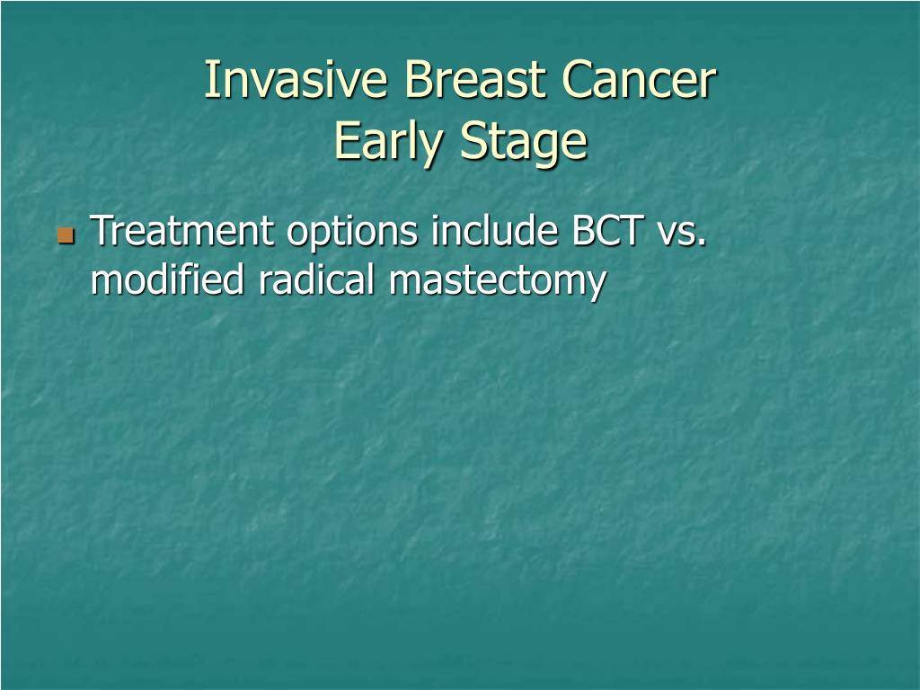 Invasive Breast Cancer