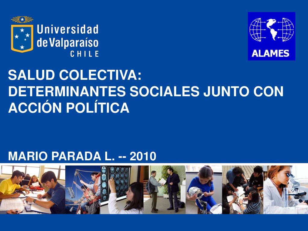SALUD COLECTIVA: