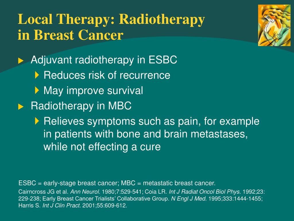 Local Therapy: Radiotherapy