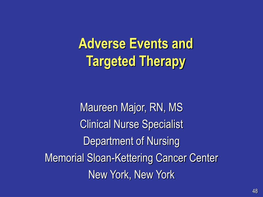 Adverse Events and